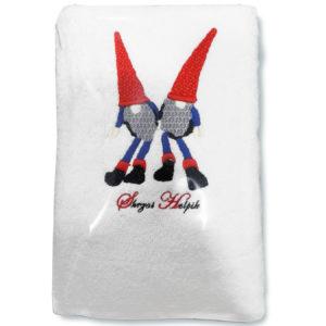 Ręcznik ze skrzatem Helpikiem